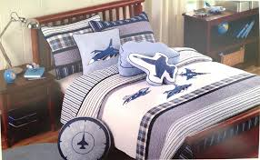 boys vintage airplane twin bedding