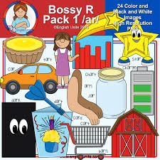 Clip Art R Controlled Vowels Bossy R Pack 1 Ar English Unite