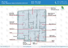 1 Plus Study Floor Plan Grandeur Park Residences  Singapore Condo Floor Plan Plus