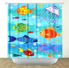 kids fish bathroom shower curtain happy fish bathroom decor fish theme bath for kids bath bathroom kids fish bathroom