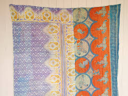 Vintage Kantha Quilts Available Now at Scaramanga » Scaramanga & Each quilt or blanket is made of layers of thin saris, so they provide  enough warmth to be used as a bed cover as well as a throw over a sofa or  ... Adamdwight.com