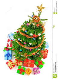 Royalty-Free Stock Photo. Download Top View Of Colorful Christmas Tree ...