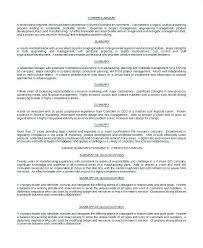 Project Manager Resume Summary Beauteous Sample Summary Of Qualifications For Resume Radiotodorocktk