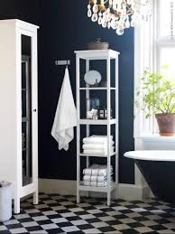 paint color portfolio dark blue bathrooms