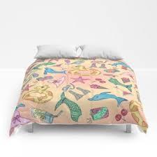Cute Illustrations <b>Comforters</b>   Society6