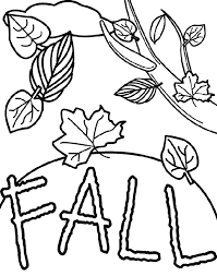 Autumn Image Free Kindergarten Coloring Page Fall Leaves The Crayola