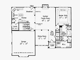 modern family house floor plan awesome eplans new american house plan modern family home 2044