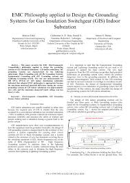 Earth Mat Design Calculation Pdf Pdf Emc Philosophy Applied To Design The Grounding Systems