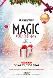 Free Christmas Flyer Templates Download Christmas Brochure Templates Free Flyers Party Summer