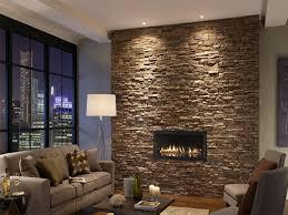 hall hall via stone wall interior design ideas
