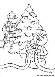 Rudolph Coloring Pages Truyendichinfo