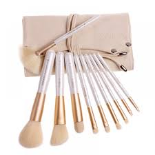 zoreya 10 pieces makeup brush set professional makeup brushes