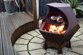 view in gallery metal decahedron fire pit barbecue jpg