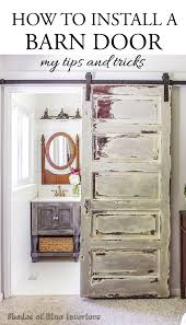 sliding barn doors for bathroom. Unique Doors How To Install A Barn Door  My Tips And Tricks To Sliding Doors For Bathroom T