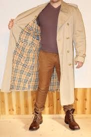 vintage burberry trench coat men