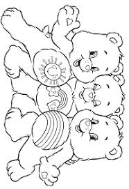 Orsetti Del Cuore E I Loro Cugini Da Colorare Disegno 10