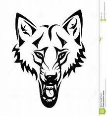 Tetování Vlk Dočasné Tetování Vlk