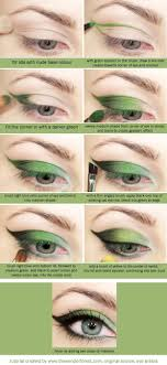 green eyeshadow tutorial another poison ivy idea eyeshadow steps crazy eyeshadow eyeshadow