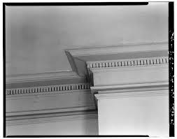 43. SECOND FLOOR: SOUTHWEST ROOM, CORNICE DETAIL - William Blacklock House,  18 Bull Street, Charleston, Charleston County, SC | Library of Congress