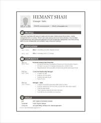 Good Resume Layout Amazing Gallery Of 48 One Page Resume Templates Free Premium Templates 48