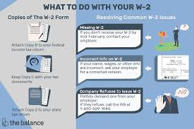 Tax Withholding Chart For Employers Understanding Form W 2 The Wage And Tax Statement