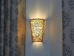 exciting lighting. led battery wall sconce its exciting lighting powered wicker with white light or amber flicker