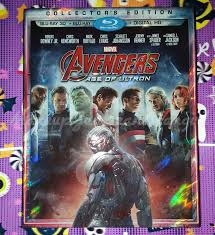 in this haul i got collector s edition blu ray 3d blu ray and digital hd of the avengers age of ultron it was on for 17 99 and was 27 99