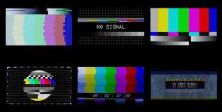 TV No Signal 4K 6-Pack | Glitch, Glitch tv, Old tv