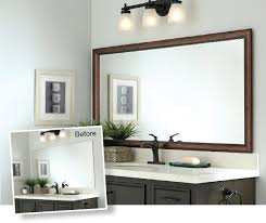 bathroom mirror frame. Mirror Frames For Mirrors Mirrormate With Proportions 1180 X 993 Bathroom Frame L