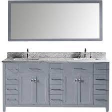 savitsky 73 double bathroom vanity set with mirror