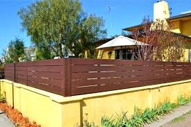 backyard wall extensions block wall fence toppers garden