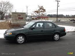 2002 Green Metallic Chevrolet Prizm #24753417 | GTCarLot.com - Car ...