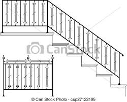 stairs clipart black and white.  Black Illustrations And Royalty Free Drawings Available To Stairs Clipart  On Clipart Black And White