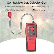 Akıllı sensör AS8800L el taşınabilir otomotiv Mini yanıcı gaz dedektörü  belirlemek test cihazı ses ve ışık alarmı ile|Gas Analyzers