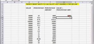 Percentage Chart Calculator How To Calculate And Add Running Percentages In Excel