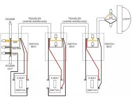 convert a 3 way switch to a 4 way Four Way Switch Wiring Diagram 1 Way Switch Wiring Diagram