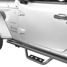 Jeep JL Side Steps Running Boards Nerf Bars for 2018-2019 Jeep ...
