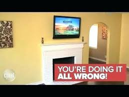 hang tv over fireplace mounting above gas fireplace mount over fireplace modern why a should never hang tv over fireplace