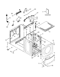 Diagram on whirlpool residential washer parts model wfw8300sw00 sears on