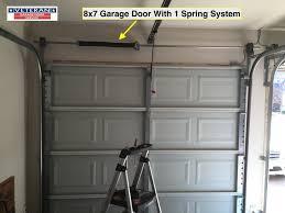 9x7 garage door87 Garage Door And Chamberlain Garage Door Opener For Wood Garage