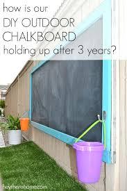 exterior chalkboard