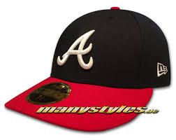 Atlanta BravesMLB Low Profile Low Crown Performance Team Color Cap ...