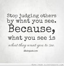 Quotes About Judging