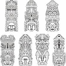 Aztec Tattoo Patterns Amazing Aztec Tattoos Tattoos With Meaning