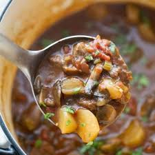 hearty keto beef stew stove top