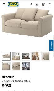 ikea gronlid sofa bed furniture sofas