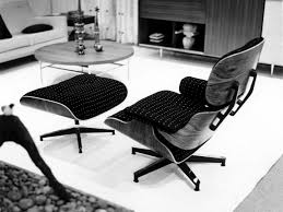 the eames office. An Eames Lounge Chair In Fabric? Really? The Office