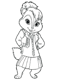 chipmunk animal coloring pages and the chipmunks coloring pages coloring pages for s swear words chipmunk animal coloring pages
