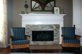 stacked stone tiles for fireplace installing stacked stone tile fireplace