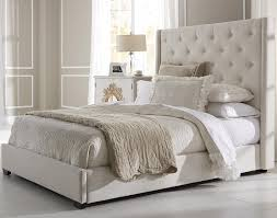king bed frame with headboard. Image Of: Upholstered King Bed Frame Headboard With M